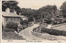 CI95. Vintage Postcard.Beach Road, Old Colwyn. Caernarvonshire