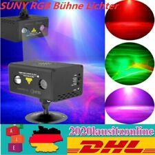 SUNY RGB Bühne Lichter LED Laser Projektor Lichteffekt Party Bühnenbeleuchtung
