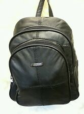 Leather Soft Leather Back Pack/ Ruck Sack Travel Bag
