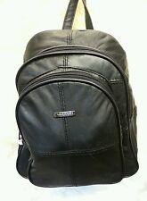 Leather Soft Leather Back Pack/ Ruck Sack Travel Bag