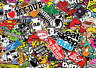 x2 Eat Sleep Dub sticker bombing sheets A4 sticker bomb decal VW Dub Euro style