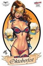"""Grimm Fairy Tales The Black Knight #1 NYCC Oktoberfest Cosplay """"Naughty"""" Cover"""