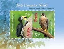 Poland / Polen 2019 - Fi MS 227** Birds of Singapore and Poland