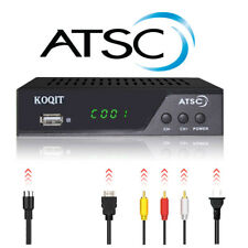 Atsc tuner Analog Receiver media recorder Digital Converter Tv Box ota antenna
