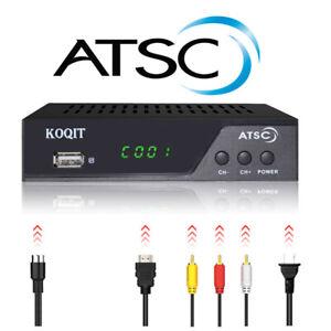 Clear Atsc tuner Analog Receiver TV Recording Digital Converter Box TV Antenna