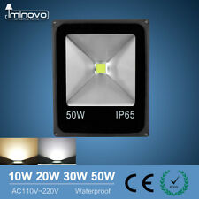 10 20 30 50W AC110 220V LED Flood Light Outdoor Spotlight Garden Yard Lamp IP65