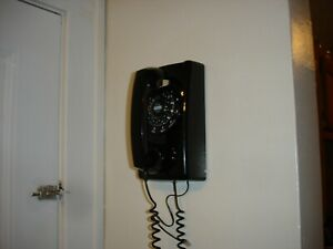 "Reproduction of wall mounted Telephone ""Black in Color"""