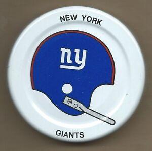 New York Giants  Gatorade Bottle Cap Lid Early 1970s NFL Helmet Beautiful