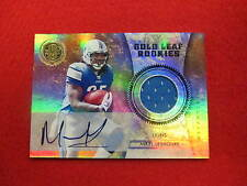 2011 Gold Standard Mikel Leshoure autograph jersey card  Lions  RC   #ed 7/50