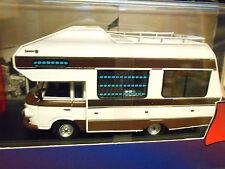 BARKAS B1000 1973 white weiss Wohnmobil Camping Camper IST297 IXO 1:43