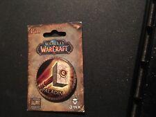 Blizzard 2006 WOW World of Warcraft Pin Button PALADIN