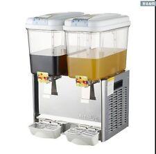 Commercial 18l2tank Frozen Hot Cold Drink Beverage Milk Juice Dispenser Machine