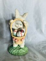 Department 56 Snowbunnies Surprise in Basket Easter Figurine Item# 56.26319