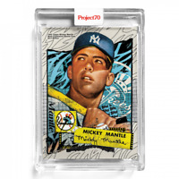 Topps Project70 Card 121 - 1952 Mickey Mantle by Tyson Beck New York Yankees