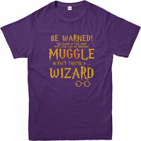 Harry Potter T-Shirt, Muggle T-Shirt, Wizard Top. Harry Potter Fancy Dress