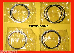 CB750 Piston Ring Set x4 STD. DOHC 1979 1980 1981 1982 1983  750 13011-425-004