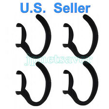 4 Black Replacement Earhooks for Motorola H700 Bluetooth Headset, earloop