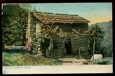Dixie Land Old Cabin Home Tuck 1098 vintage u/b PPC