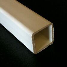 10ft Heavy duty white PVC wall & ceiling plastic battens / battons - 25mm square