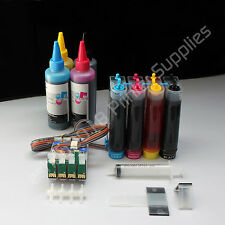 CISS CIS  & extra Set Ink for Epson  NX200 NX400 NX415