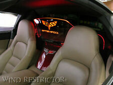 New Windscreen Windblocker Corvette C6 LOGO + Color Changing with Remote