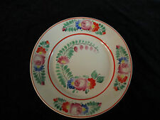 Hollohaza Hand Painted Floral Bowl Plate Charger Hungary beautiful decoration