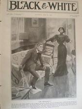 Actor George Alexander en el teatro Thunderbolt St James's impresión de Londres 1908