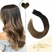 Tape extensions ombre grau
