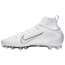 all white vapor cleats