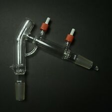 24/40,14/20,Jacketed Distillation Head Short Path Condenser with removable hose