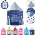 Prince Princess Castle Play Tent Childrens Kids Play House Indoor Gift Toy Party