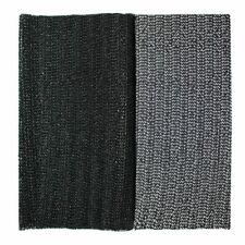 Negro Multiuso Antideslizante Agarre Felpudo Alfombra 30cm x 125cm Corte a