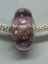 Pandora Pink Murano glass bubble Charm - RRP £40 - S925 ALE