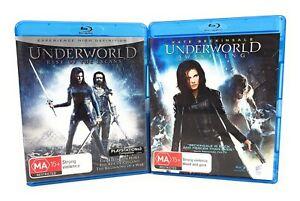 Underworld: Awakening & Rise Of The Lycans (Blu Ray, 2012) Region B