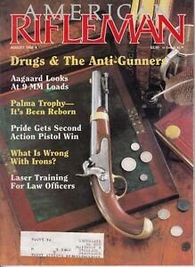 Magazine American Rifleman, AUGUST 1988 ! Laser Training Law Officers , Marlin