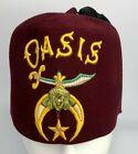 Vintage Oasis Shriners Fez - Jeweled Tassel Holder - Lou Walt Corp NYC - Masonic