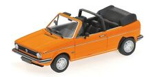 Volkswagen VW Golf I Cabrio 1980 Orange 1:43 Model 400055131 MINICHAMPS