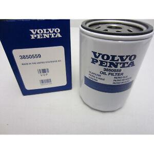 Volvo Penta New OEM Remote Oil Filter 3850559 4.3L, 5.0L, 5.7L, 7.4L, 8.2L