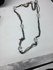 Betsey Johnson Vintage Lucite Ball Necklace $60 W-53