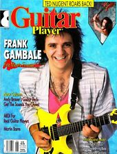 Guitar Player Magazine June 1988 Frank Gambale, FREE Record, Ted Nugent, MIDI