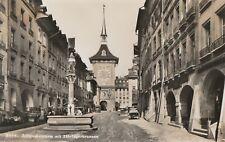 AK Bern. Zeitglockenturm mit Zähringerbrunnen