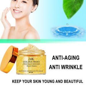 30g Gold Face Cream Anti Wrinkle Brightening Collagen Whitening Moisturizing Oil
