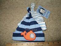 a24359053fc Gerber Infant Baby Boy s Cotton 2 Caps Blue Stripes Helicopter 0-6 M Hat