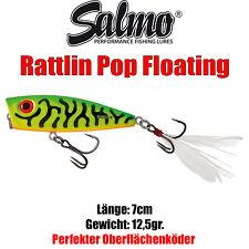 Hechtköder Spinnköder 2 Wobbler für Hecht 11cm 15g schwimmend Salmo Pike Set