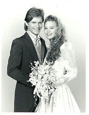 YOUNG ROBIN WRIGHT WEDDING DRESS ROSS KETTLE SANTA BARBARA 1987 NBC TV PHOTO