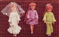"CRISSY DOLL or 18 ""DOLL 8ply - COPY doll crochet pattern"