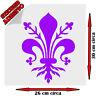 Sticker Adesivo Maxi Giglio Firenze Fiorentina Viola Calcio Sport Tuning Auto