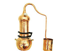 Kolonnenbrennerei aus Kupfer 2 L mit Thermometer - Destille ätherische Öle