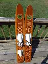 Vintage Water Skis Rare Hedlund Larry Penacho 1960's Three-Sixty Hydro-Flite