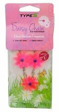 Daisy Flower Chain Car Air Freshener Hanging Floral Scent Home Airfreshener